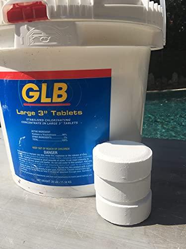 Chlorine Tablets, 3 inch Value Chlor, 25 Lbs.