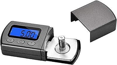 High Precise Digital Mini Turntable Stylus Force Scale Gauge 0.01g/5.00g Blue LCD Backlight for Tonearm Phono Cartridge