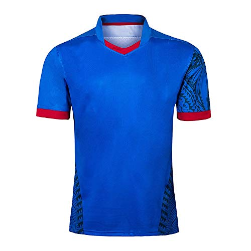 Axdwfd Rugby-pak, rugby-pak, voetbalshirt, sportwedstrijdpak, scheidsrechter uniform breath halmouw sport halsmouw