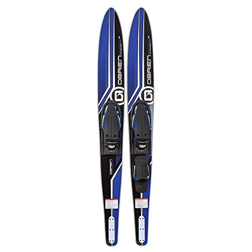 """O'Brien Celebrity Combo Water Skis, Blue, 68"""""""