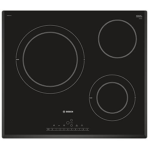 Bosch Serie | 6 PKK651FP2E - Placa Vitroceramica Integrado, Control táctil, 60cm, Color Negro