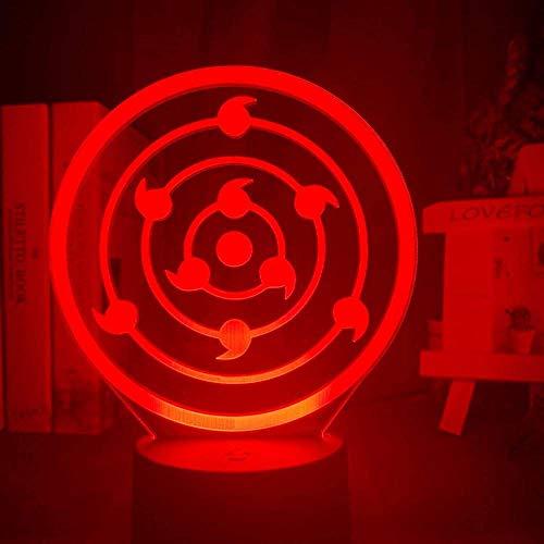 Bar Stools Luces de Noche llevadas 3D Novedad Ilusión Noche Lámpara de ilusión 3D Lámpara de Mesa 3D Lámpara LED para la luz Decorativa del hogar