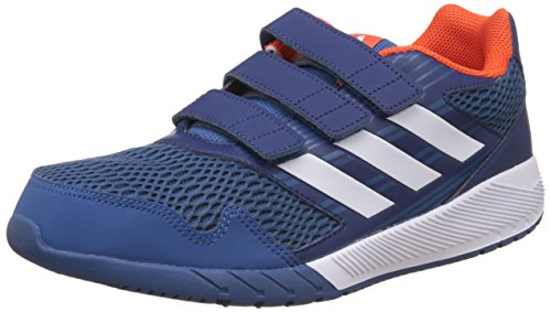 adidas Unisex-Kinder Altarun Cf K Leichtathletik-Schuh, Blu Azubas Ftwbla Azumis, 38 2/3 EU