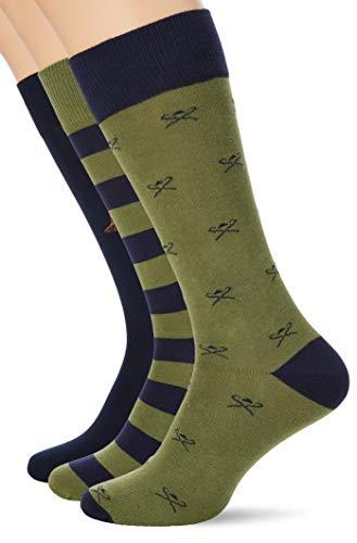 Hackett GIFT HARRY SOCKS Casual Sock, mens, Blau S/M