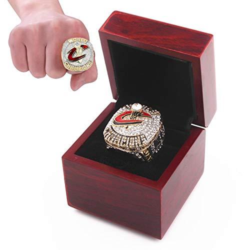 JIEBANG 2015 Cleveland Replica Ring Championship Ring, 2015-16 MVP Jame Fans Recolece De Regalo De Regalo De Regalo - ColecciÓn, con Caja with box-12