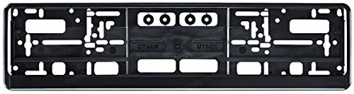 KFZ Kennzeichenhalter / Kennzeichenhalterung / Kennzeichenverstärker mit Click-Leiste