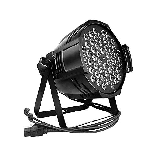 Led Par Lights LED Stage LightsPar 180W 54LEDs DMX512 Iluminación de Discoteca...