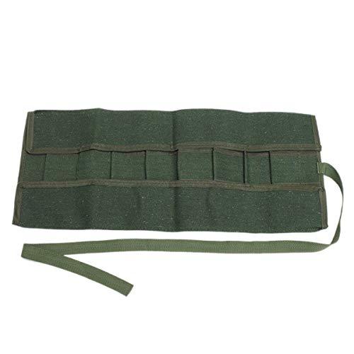 NINGWANG 600x430Mm Japanese Bonsai Tools Storage Package Roll Bag Canvas Tool Set Case