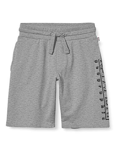 Napapijri Jungen K Noli Shorts, Grau (MED Grey Mel 1601), 104 (Herstellergröße:4)