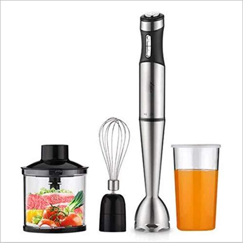 Guotail Main mélangeur bâton d'immersion électrique mélangeur bâton de Cuisson avec Fouet Chopper Bol et bécher pour bébé Nourriture, Shakes, Smoothies, sauces, Soupe et Plus