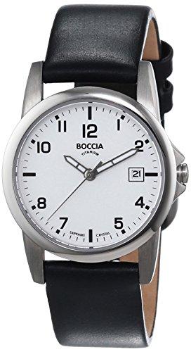 Boccia Damen-Armbanduhr XS Analog Quarz Leder 3298-01