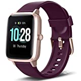 Letsfit Smart Watch, Fitness Tracker with Heart Rate Monitor, Activity Tracker with 1.3' Touch Screen, IP68 Waterproof Pedometer Smartwatch with Sleep Monitor, Step Counter for Women and Men (Renewed)