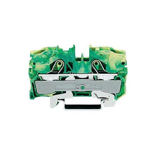 Wago 2-Leiter Schutzleiterklemme 10/16 qmm, 2010-1207, 1er pack