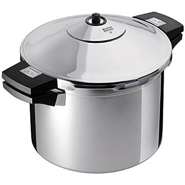 Kuhn Rikon Duromatic Stainless-Steel Stockpot Pressure Cooker - 8.4-Qt