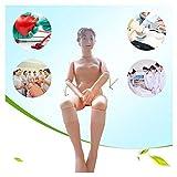 OPNG 160 cm Tamaño de Vida Caucho Demostración Maniquí Anatómico Modelo Humano para Enfermería Médico Formación Enseñando Y Suministros educativos Hembra Banda Módulo de Repuesto