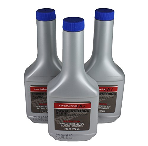 Honda 08206-9002PE Power Steering Fluid Pack of 3