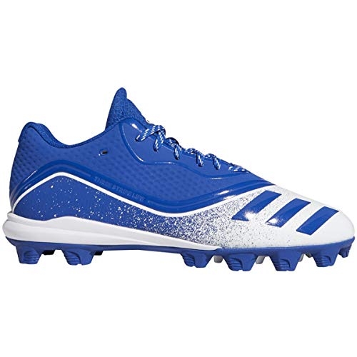 Adidas Mens Icon V Md Baseball Shoes Royal/White 8.5