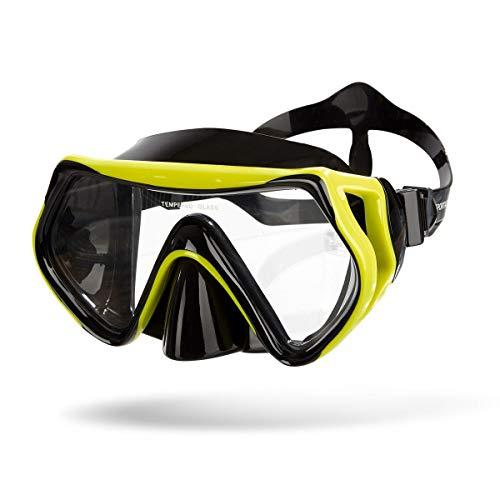 Sportastisch Taucherbrille SPITZENSPORTLER ERPROBT¹ Tauchermaske Dive Under mit Anti-Fog & UV-Schutz, 180° Weitsicht Schwimmbrille komfortable für Erwachsene & Kinder, bis zu 3 Jahren Garantie²