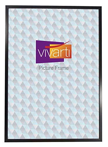 Vivarti Thin Matt Black Picture Frame, 50 x 70 cm