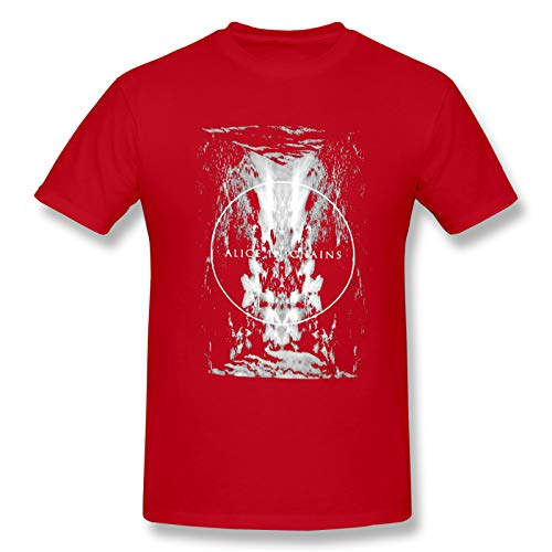 Alice In Chains22 Men's Short Sleeve T-Shirt Rock Fun tee Re