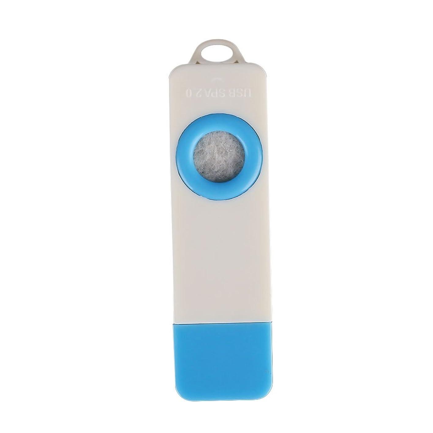 金銭的ご近所湿気の多いTOPmountain ファッションミニ USBアロマセラピーディフューザー ポータブル自動香 カーアクセサリーアクセサリー ホームアロマセラピー 健康アロマ オイル加湿器