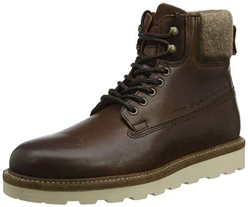 GANT Footwear Herren Don Combat Boots, Braun (Cognac G45), 43 EU