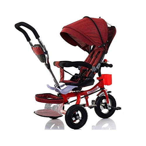 Purchase GY Children's Tricycle Children's Tricycle Bicycle Child Folding Rotating Stroller Baby Str...