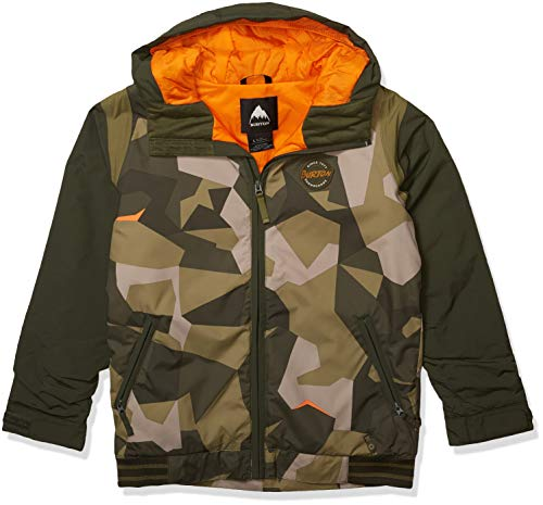 Burton Boys' Game Day Jacket, Three Crowns Camo, Large