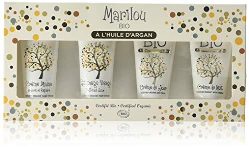 Marilou Bio - Gamme Argan - Coffret à l'Huile d'Argan - le Rituel des Peaux Sèches