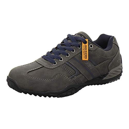 Dockers by Gerli Herren 44BN009 Sneaker, Grau (Dunkelgrau 220), 41 EU