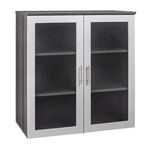 Safco Medina Cabinet, 36', Gray Steel
