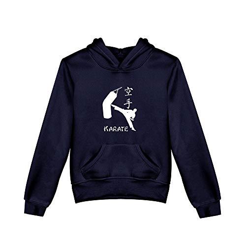 Karate Kid Hoodie Kyokushin Karate Association Print Pullover Jungen Und Mädchen Fleece Kapuzenpullover Sweatshirt (geeignet Für Kinder Von 3-8 Jahren)