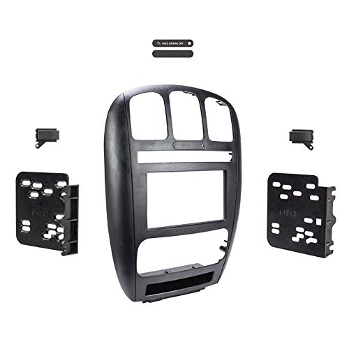 01 02 03 04 05 06 07 CARAVAN/TOWN & COUNTRY Car Radio Stereo Installation Double Din Dash Kit