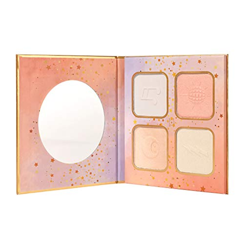 4 Colors Highlight Pressed Powder Concealer Brighten Powdery Pallet