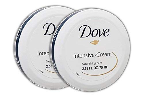 Dove Nourishing Care Intensive-Cream For Complete Daily Skin Care 2.53FL.OZ. 75ML (Pack of 2)