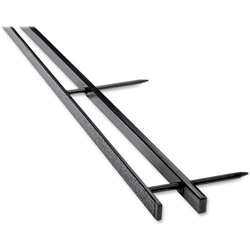 """GBC Binding Spines, Reclosable, 2"""" Depth, 4 Pin Spines, 200 Sheet Capacity, VeloBind, Black, 25 Pack (9741630)"""
