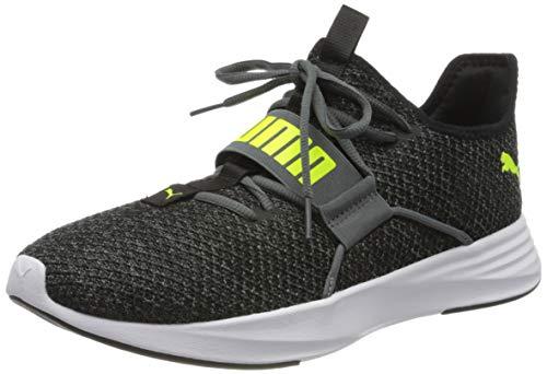 PUMA Herren Persist XT Knit Sneaker, Grau (Castlerock-Yellow Alert), 44 EU
