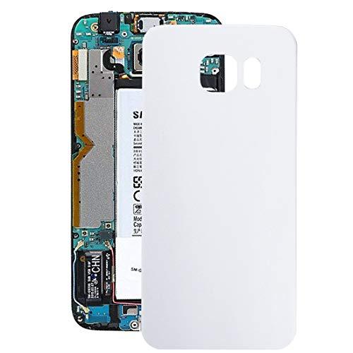 O-OBDO Tapa trasera para Galaxy S6 Edge / G925 (color: blanco)