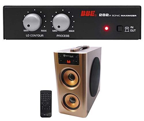 BBE 282IX Desktop Sonic Maximizer w/XLR Inputs/Outputs + Free Bluetooth Speaker