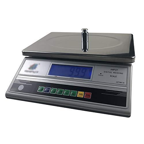 LICHUXIN Básculas Cocina Alta precisión Contando Escala Comercial electrónica Peso Balanza Dedicado Escala sobremesa Pantalla LCD Digital Ferretería Comida Carne Frutas Producir (Size : 3kg/0.1g)