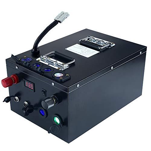 LeiQuanQuan 12V LIFEPO4 160AH 220AH 300AH Batería De Almacenamiento Solar para Autocaravanas Y Buques Viene con Una Función De Reparación De Reducción De Capacidad (Power : 12v 400ah)