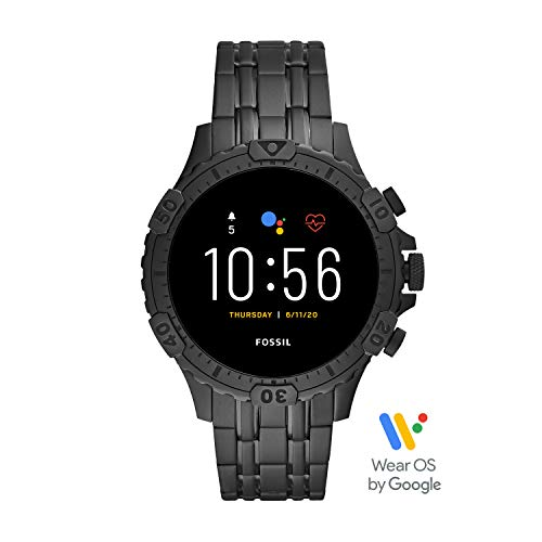 Fossil Men's Touchscreen Connected Smartwatch with Stainless...
