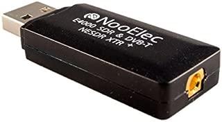 NooElec NESDR XTR+ Tiny Extended-Range TCXO-Based RTL-SDR & DVB-T USB Stick (RTL2832U + E4000) w/Antenna and Remote Control