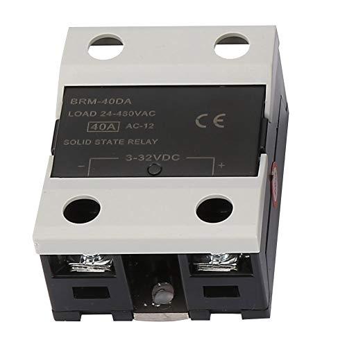 AC 110V-240V 0 ℃ ~ 1300 ℃ Kit de controlador de temperatura REX-C100 Kit de termostato practicidad con sensor de temperatura tipo K con BRM-40DA SSR eléctrico