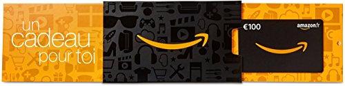 Carte cadeau Amazon.fr - €100 - Dans un étui Amazon orange