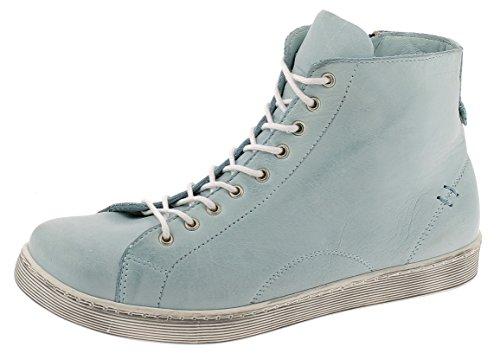 Andrea Conti Damen 0341500 Hohe Sneaker, Hellblau, 38 EU