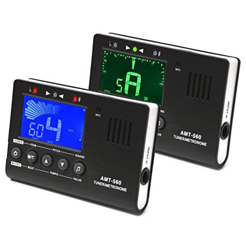 Elagon afinador + metrónomo (AMT-560) Generador de notas Afinador para todos los...