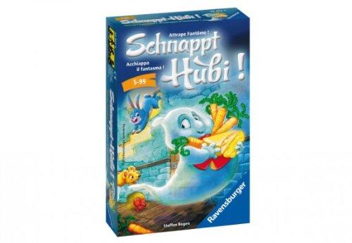 Ravensburger 23352 - Brettspiele, Schnappt Hubi - Kinderspiel/ Reisespiel