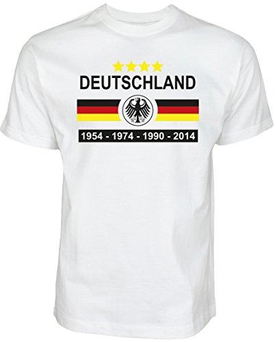 Halal-Wear WM EM Fußball Shirt 2020 Damen & Herren Deutschland Fanshirt Fußballmeisterschaft T-Shirt Germany Weltmeisterschaft Fußballshirt World Cup (XL)