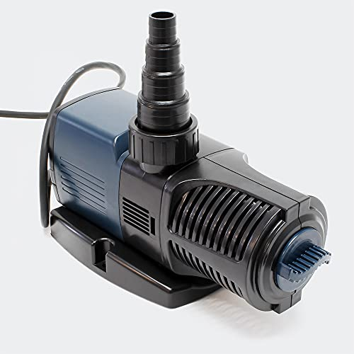 SunSun JTP-8000 SuperECO Pompe de Bassin à 8000l/h 60W pour Le Bassin et de Cours d'eau